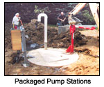 Packaged Pump Station
